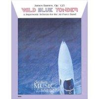 (楽譜) ワイルド・ブルー・ヨンダー / 作曲:ジェイムズ・バーンズ (吹奏楽)(スコア+パート譜セット)