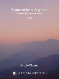 【吹奏楽 楽譜 フレキシブル】<br>セコイアからの手紙(フレキシブル版) <br>作曲:ニコル・パイウノ
