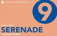 【管楽9重奏 楽譜】<br>管楽9重奏のためのセレナーデ <br>作曲:カタジ・コプリー<br>
