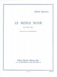 (楽譜) クロウタドリ / 作曲:オリヴィエ・メシアン (フルート&ピアノ)