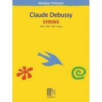 (楽譜) シランクス(パンの笛) / 作曲:クロード・ドビュッシー  (フルート独奏)
