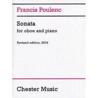 (楽譜) オーボエ・ソナタ / 作曲:フランシス・プーランク (オーボエ&ピアノ)