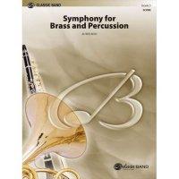 (楽譜) 金管楽器と打楽器のための交響曲 / 作曲:アルフレッド・リード (吹奏楽)(フルスコアのみ)
