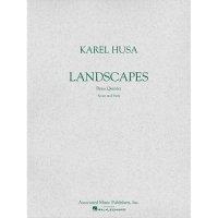 (楽譜) ランドスケープス / 作曲:カレル・フサ (金管5重奏)
