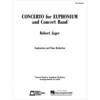 (楽譜) ユーフォニアム協奏曲 / 作曲:ロバート・ジェイガー(ユーフォニアム&ピアノ)