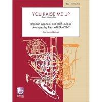 (楽譜) ユー・レイズ・ミー・アップ / 作曲:ラヴランド 編曲:ベルト・アッペルモント (金管5重奏)