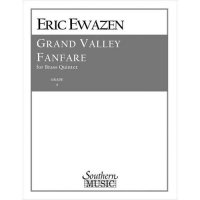 (楽譜) グランド・ヴァレー・ファンファーレ / 作曲:エリック・イウェイゼン (金管5重奏)