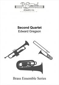 (楽譜) 金管四重奏曲 第2番 / 作曲:エドワード・グレッグスン (金管4重奏)