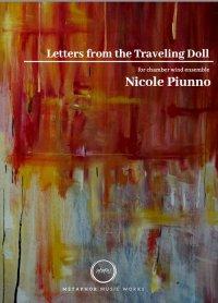 【吹奏楽 楽譜 スコア+パート譜】<br>旅する人形からの手紙 <br>作曲:ニコル・パイウノ