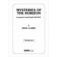(楽譜) 地平線の神秘 / 作曲:ナイジェル・クラーク (トランペット&吹奏楽)(フルスコアのみ)