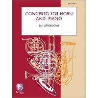 (楽譜) ホルン協奏曲 / 作曲:ベルト・アッペルモント (ホルン&ピアノ)