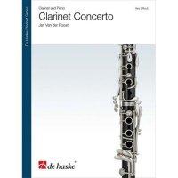 (楽譜) クラリネット協奏曲 / 作曲:ヤン・ヴァンデルロースト (クラリネット&ピアノ)