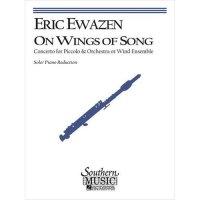 (楽譜) 歌の翼に乗って / 作曲:エリック・イウェイゼン (ピッコロ&ピアノ)
