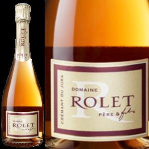 ドメーヌ・ロレ クレマン・デュ・ジュラ ロゼ Domaine Rolet Cremant du Jura Rose