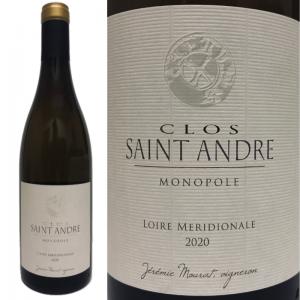 フィエフ・ヴァンデアン クロ・サンタンドレ 2020 Domaine Mourat Clos Saint Andre Monopole 2020