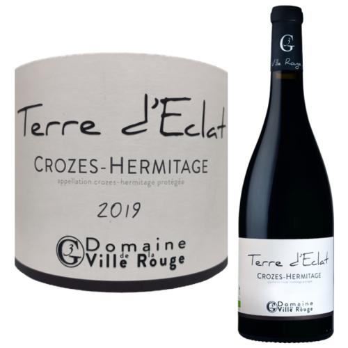 クローズ・エルミタージュ 赤 テール・デクラ 2017年 Crozes-Hermitage red Terre d'Eclat 2017【高評価獲得】