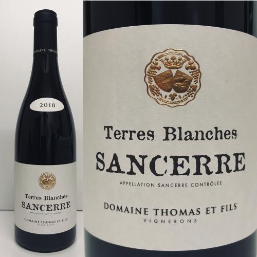 サンセール ルージュ テール・ブランシュ ドメーヌ・トーマス 2018年 Sancerre Red Terres Blanches 2018 Domaine Thomas