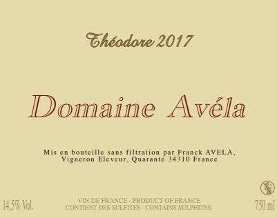 ドメーヌ・アヴェラ テオドール 2017 Domaine Avela Theodore 2017 【ケース販売】