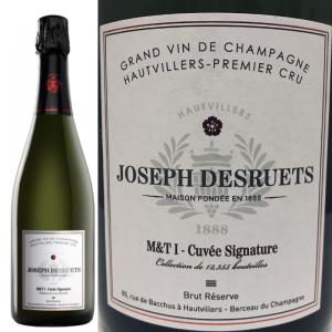 シグナチュール シャンパーニュ ジョゼフ・デズルエ プルミエ・クリュ ブリュット・レゼルヴ Champagne Desruets Premier Cru Signature Brut Reserve