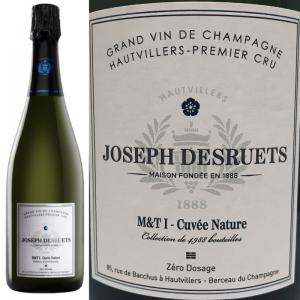 キュヴェ・ナチュール シャンパーニュ ジョゼフ・デズルエ プルミエ・クリュ ドサージュゼロ Champagne Desruets Premier Cru Nature Dosage Zero
