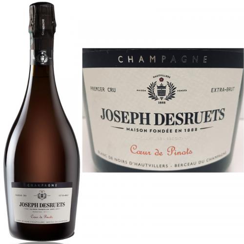 <img class='new_mark_img1' src='https://img.shop-pro.jp/img/new/icons15.gif' style='border:none;display:inline;margin:0px;padding:0px;width:auto;' />クールドピノ 2015 シャンパーニュ ジョゼフ・デズルエ プルミエ・クリュ エクストラブリュット Champagne Desruets Premier Cru Couer de Pinots