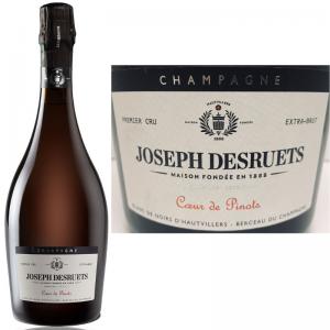 クールドピノ 2015 シャンパーニュ ジョゼフ・デズルエ プルミエ・クリュ エクストラブリュット Champagne Desruets Premier Cru Coeur de Pinots