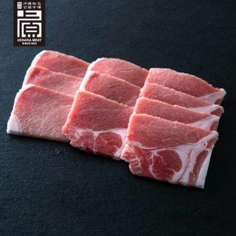 県産ブランド豚あぐー ロース焼肉セット(500g)