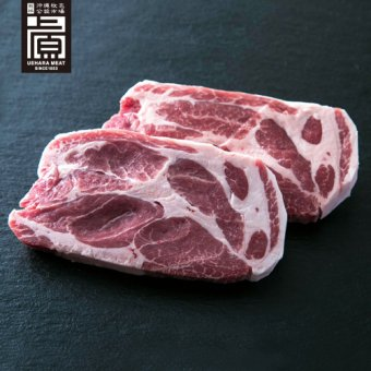 県産ブランド豚あぐー 肩ロース トンカツ・ソテー用(500g)