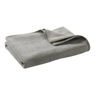 オーガニックコットン バスタオル 140×70cm / カシミアブラウンストライプ / Living Crafts