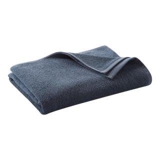 オーガニックコットン バスタオル 140×70cm / ブルー / Living Crafts
