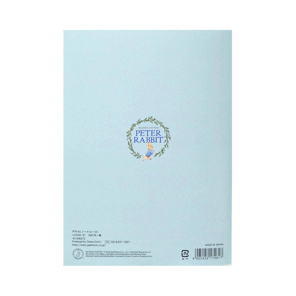 キャラコ ピーターラビット A5ノート(レース) CD038-81