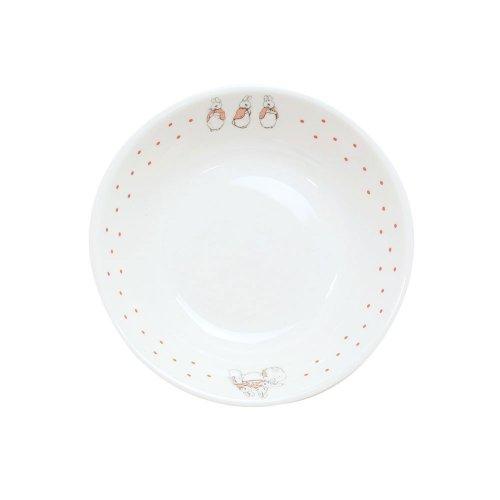 ピーターラビット 【幼児用食器】深小皿(ドットガールズ)