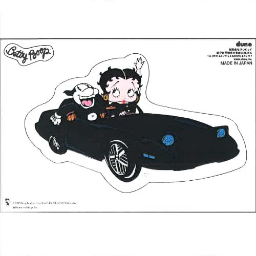 Betty Boop ステッカー【スポーツカーベティ】 <img class='new_mark_img2' src='https://img.shop-pro.jp/img/new/icons20.gif' style='border:none;display:inline;margin:0px;padding:0px;width:auto;' />