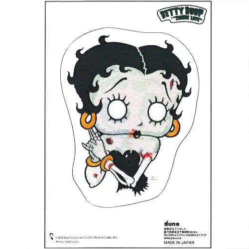 Betty Boop ステッカー【KISS ME】