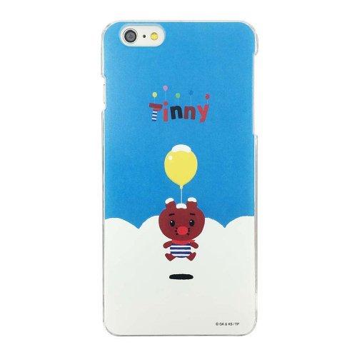 ふうせんいぬティニー iPhone6Plus対応 シェルジャケット(あおぞら)-06A