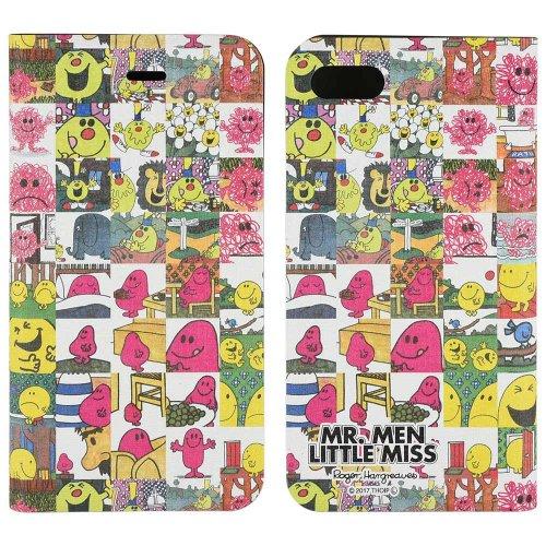 ミスターメンリトルミス iPhone7対応フリップカバー(A)L-59A MM