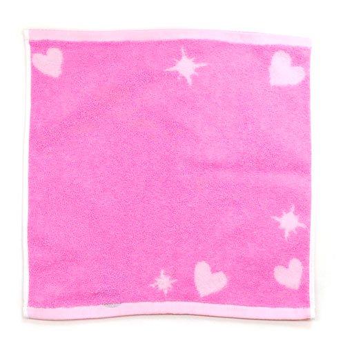 キャラコ ミスターメンリトルミス ウォッシュタオル(シンボリック)ピンク WE202002