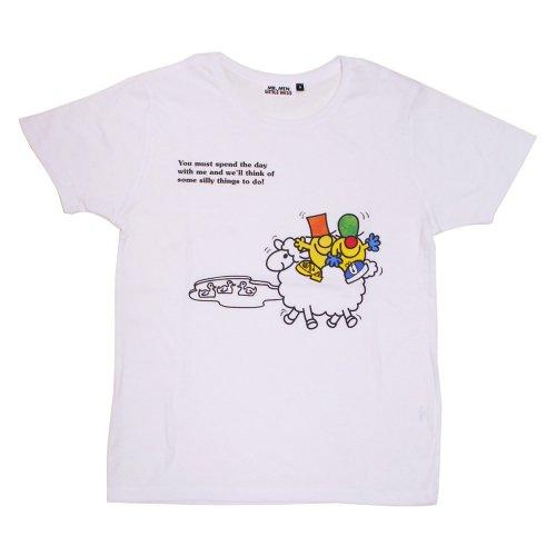 ミスターメンリトルミス レディースTシャツ(シリー&ナンセンス)M MR-7976