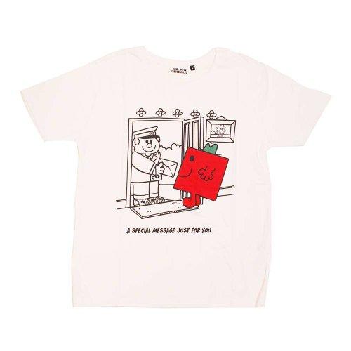 ミスターメンリトルミス レディースTシャツ(ストロング)S MR-7977