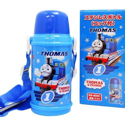 きかんしゃトーマス ステンレスボトル(コップ付)-600C