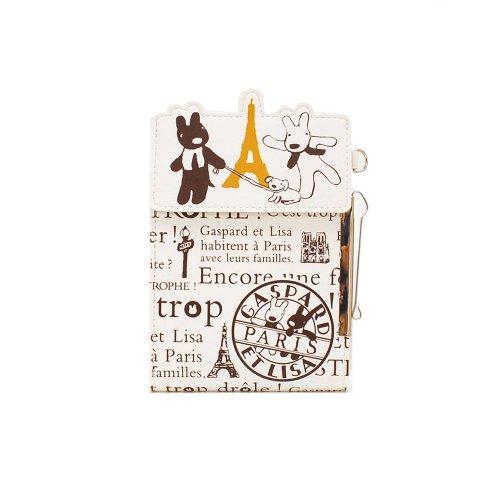 リサとガスパール 腰ポケット用ペンケース(PARIS)ブラウン ST-ZG0001