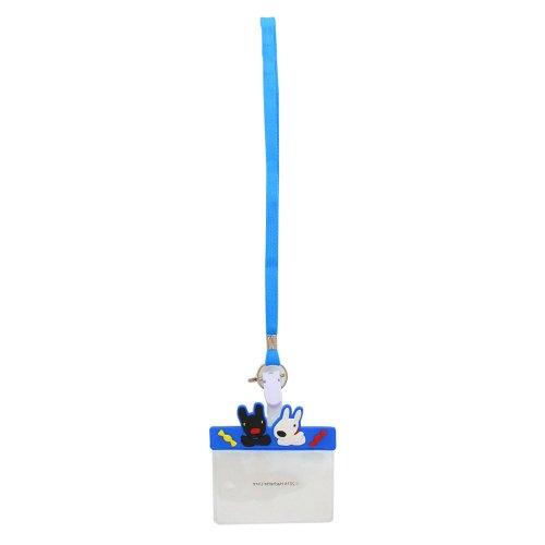 リサとガスパール ネームホルダー(ブルー) ST-ZG0002