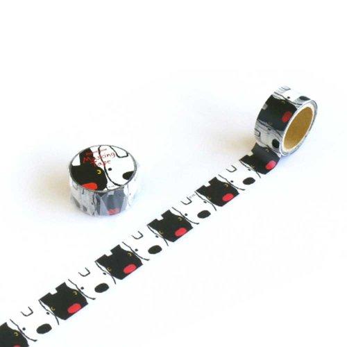 リサとガスパール マスキングテープ(フェイス) KL000003-2