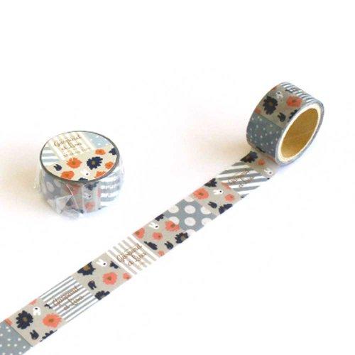 リサとガスパール マスキングテープ(スクエア) KL000003-4
