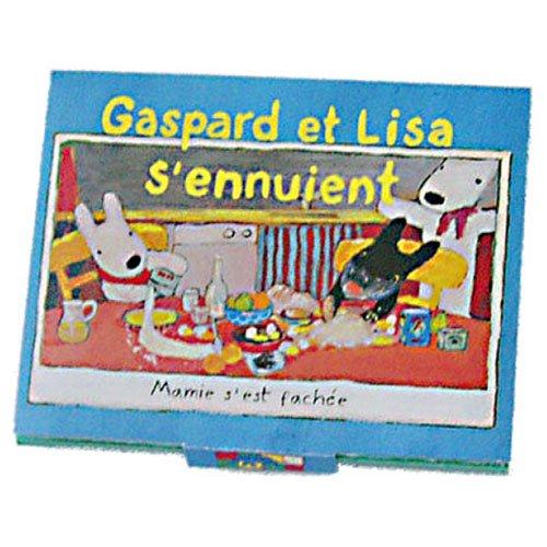 リサとガスパール 脂取り紙 (たいくつ)