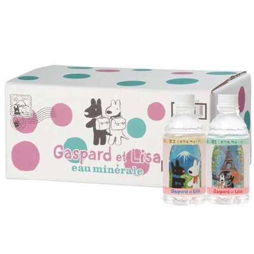 リサとガスパール 富士ミネラルウォーター(350ml) 1箱(24本入) 595