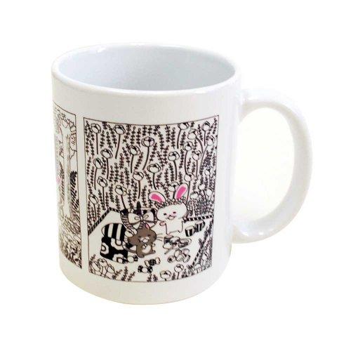 【生産終了品】うさぎのモフィ マグカップ(B)