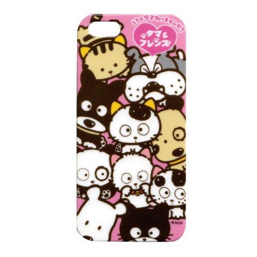 タマ&フレンズ iPhone5/5S専用カバー(オールスター) CRTM55