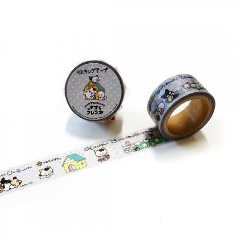 タマ&フレンズ マスキングテープ(タマの一日) TM-MK-002
