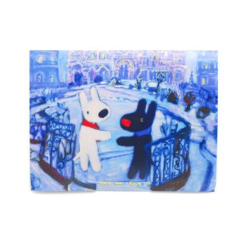 リサとガスパール スマートフォンクリーナー(クリスマス) LCS-5